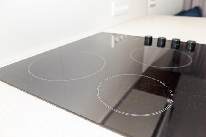 Een elektrische kookplaat is in elk geval een stuk gemakkelijker schoon te houden.