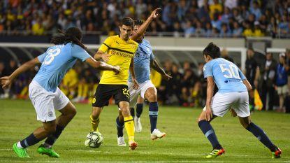 Jason Denayer gaat met City onderuit tegen Borussia Dortmund