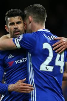 Diego Costa leidt Chelsea naar overtuigende zege