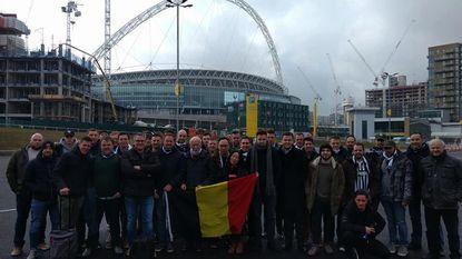 Supportersclub Rode Duivels met 55 op Wembley