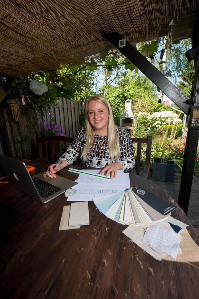 Centaine Kipp (20) uit Epe is Cibap Talent van het Jaar 2018.