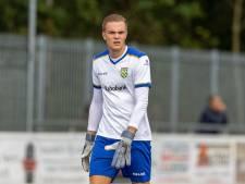 Keeper Jesper Harmans staat met Nieuw-Lekkerland tegenover oude club Oranje wit