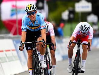 """Wout van Aert diep teleurgesteld na twee zilveren medailles in Imola: """"Ik mikte op overwinningen"""""""