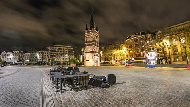 IN BEELD. Zo leeg en ijzig is Kortrijk nu op een zaterdagnacht, zeven inbreuken op nachtklok