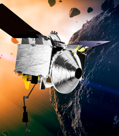 Ruige ruimterots dreigt NASA's plannen in het honderd te sturen