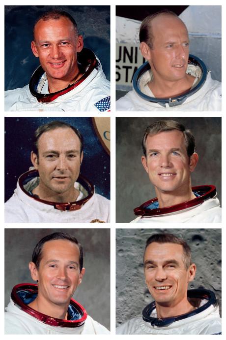 Neil, Buzz en... deze 12 mensen liepen op de maan