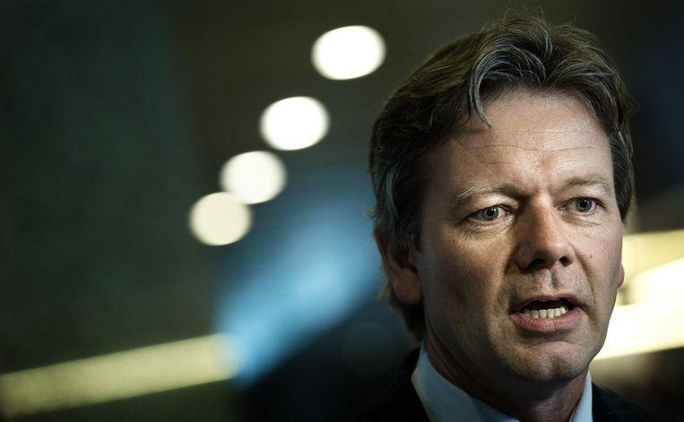 Kamerlid Joël Voordewind van de ChristenUnie wil snel met de coalitiepartijen rond te tafel om te praten over een versoepeling van het kinderpardon.  Beeld anp