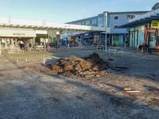 Foutje: boom die behouden moest blijven toch weg bij winkelcentrum Bieshof