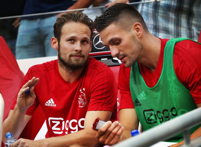 Daley Blind en Dusan Tadic, de twee grote aanwinsten van Ajax.