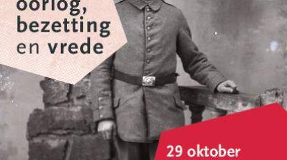 Melle tijdens Wereldoorlog I in tentoonstelling
