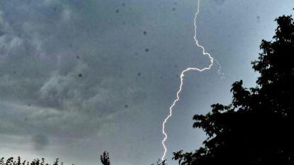 KMI waarschuwt voor lokaal onweer: veel neerslag in korte tijd of hagel, noodnummer 1722 opnieuw geactiveerd