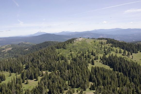 Soda Mountain, een berg in Oregon in het Cascade–Siskiyou National Monument.