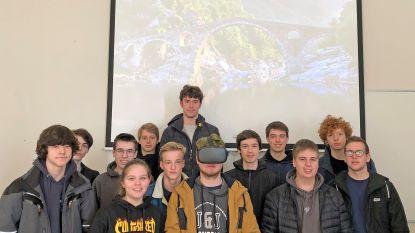 Leerlingen Atheneum Zottegem lanceren Virtual Reality-project