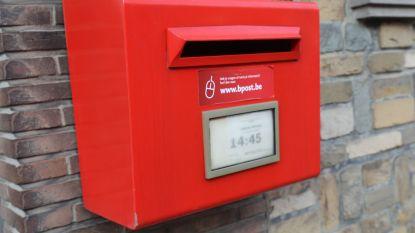 Zeven postbussen van Bpost verdwijnen in Halle