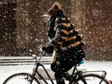Code geel: winterse buien bereiken Amsterdam