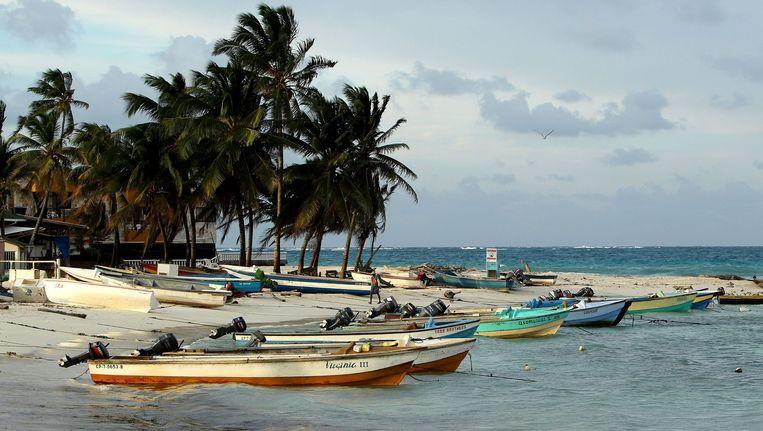 De kust van Colombia. Beeld anp