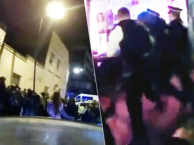 300 man opeengepakt in kleine ruimte: Londense politie legt illegale rave stil