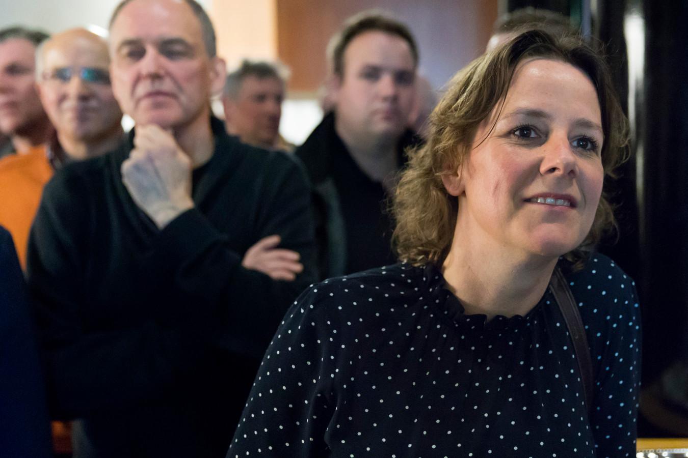 Judith Hendrickx van De Bossche Groenen en links Helmus Boons.