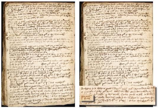 Een van de archiefstukken waarin de oorspronkelijke familienaam Van Lymborch is gebruikt.