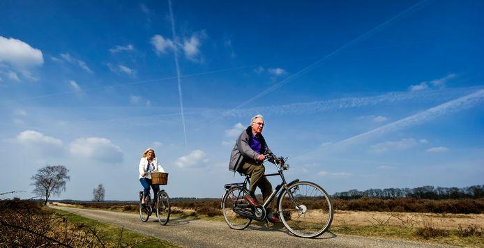 In de gemeente Ede zijn veel fietspaden nog smal.
