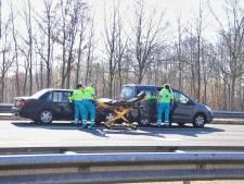 Gewonden bij ongeluk op A58 bij Bergen op Zoom