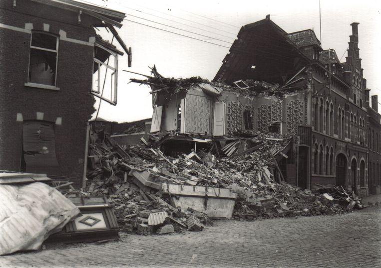 Een beeld van Izegem tijdens de Tweede Wereldoorlog.