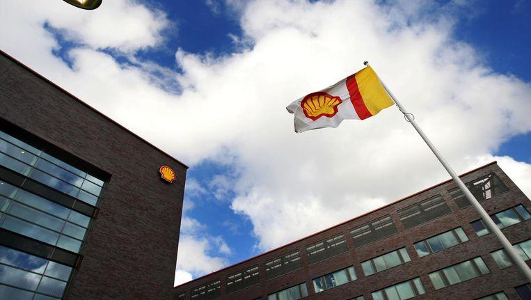 Het pand van Shell in Noord Beeld anp