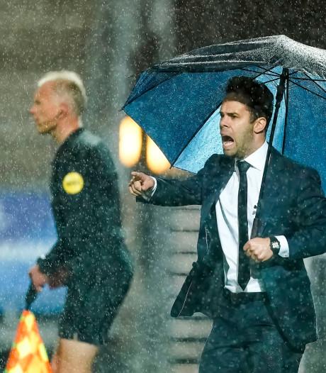 FC Den Bosch-trainer Erik van der Ven rekent op een getergd Volendam
