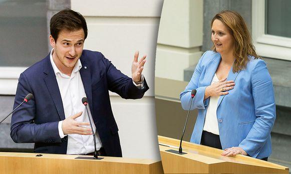Francesco Vanderjeugd en Gwendolyn Rutten.