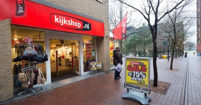 De voormalige Kijkshop in Zoetermeer. De winkelketen ging begin 2018 failliet, maar is terug als online marktplaats.
