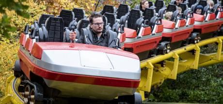 Rollercoastergek Rick uit Hellendoorn maakt allerlaatste rit in Avonturenparkachtbaan Tornado