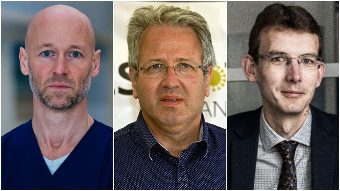 Geert Meyfroidt, Jan Stroobants en Roel Van Giel