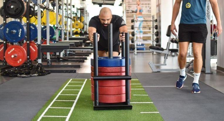 Vanden Borre begin dit jaar aan het werk in Dubai in de fitnesszaak van ex-Anderlechtspeler Christian Wilhelmsson.