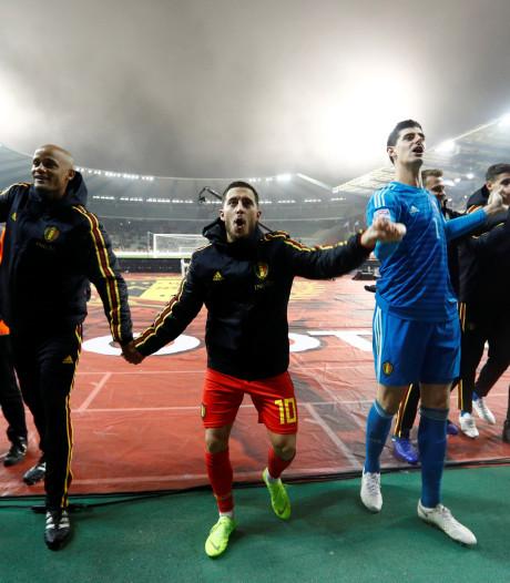 België in tweede helft langs IJsland