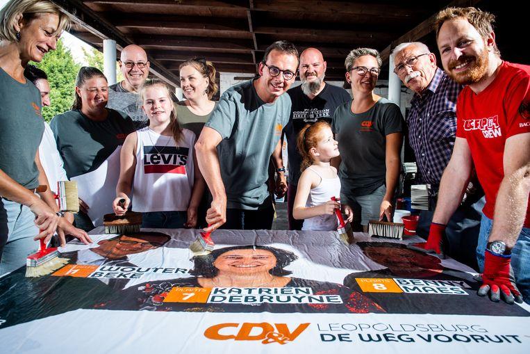 CD&V-voorzitter Wouter Beke. Kan hij zijn partij de grootste laten blijven bij de gemeenteraadsverkiezingen?