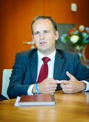 Sliedrechtse burgemeester Bram van Hemmen.