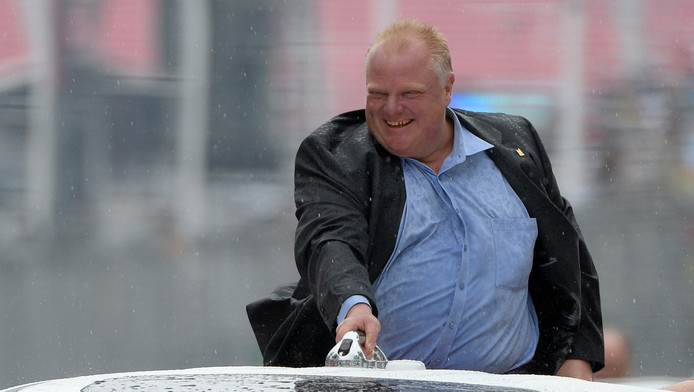 Rob Ford in 2014