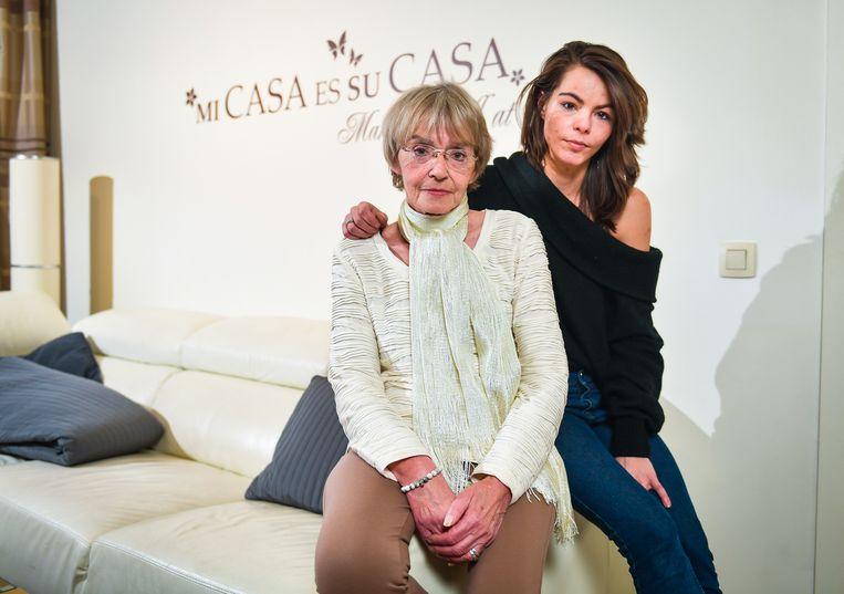 Mama Lydia De Decker en dochter Naomi Van Hecke blijven hopen op een doorbraak.