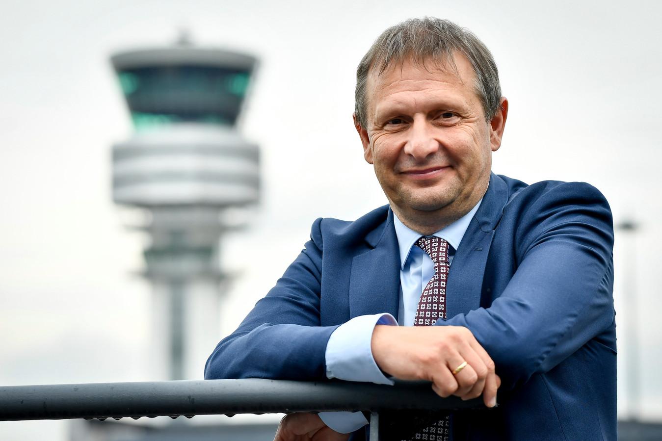 Skeyes-topman Johan Decuyper is kandidaat voor een tweede mandaat.