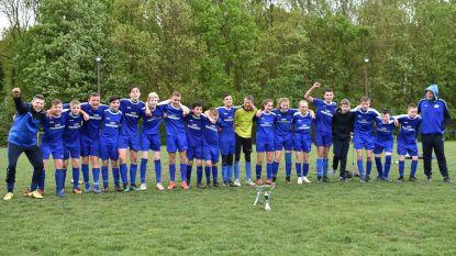 U15 Drieslinter viert kampioenentitel