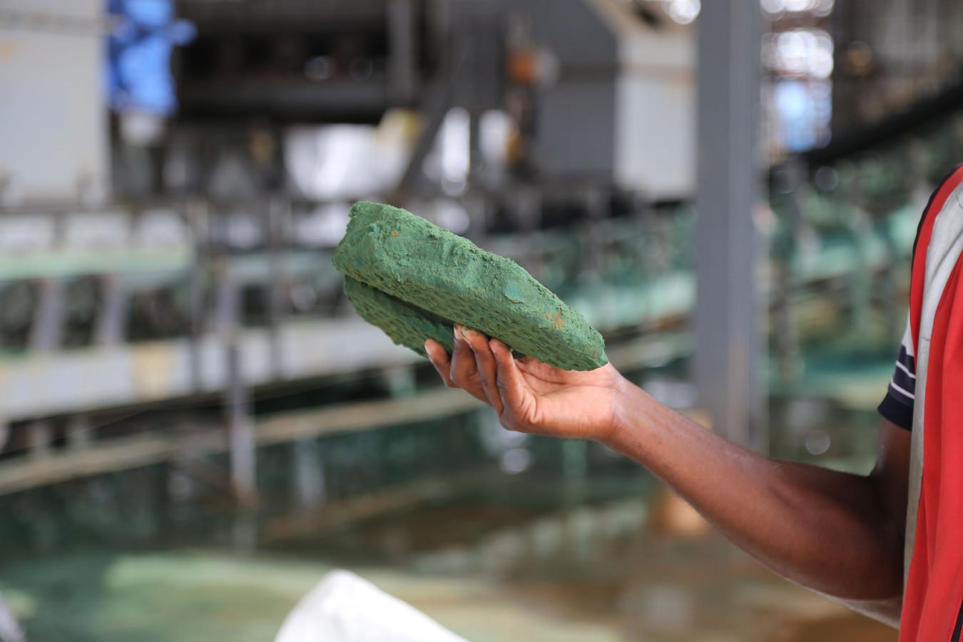 Congo levert 67 procent van het kobalt dat wereldwijd wordt verkocht