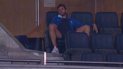 Football Talk. Reservedoelman Belenenses tijdens rust in quarantaine geplaatst - Griezmann out met spierblessure