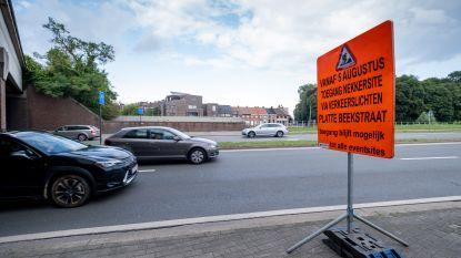 Voorbereidende werken voor aansluiting N15 aan  Tangent starten volgende week