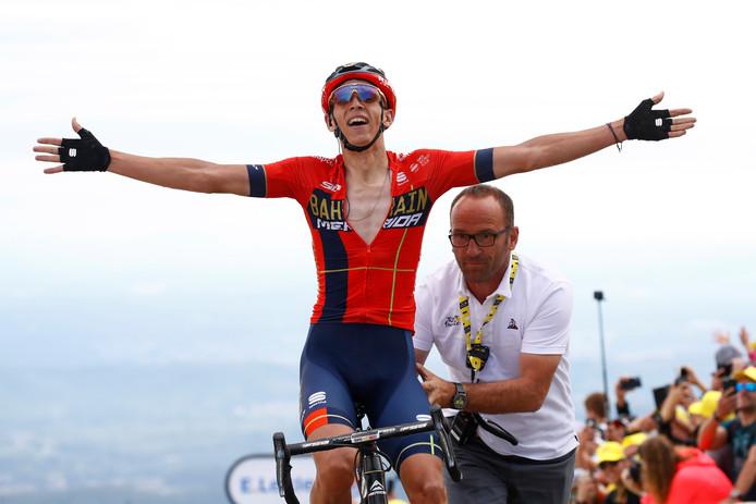 Auteur d'un splendide numéro, le Belge Dylan Teuns a remporté la périlleuse sixième étape du Tour de France. C'est la première victoire d'étape belge sur la Grande Boucle depuis 2016.