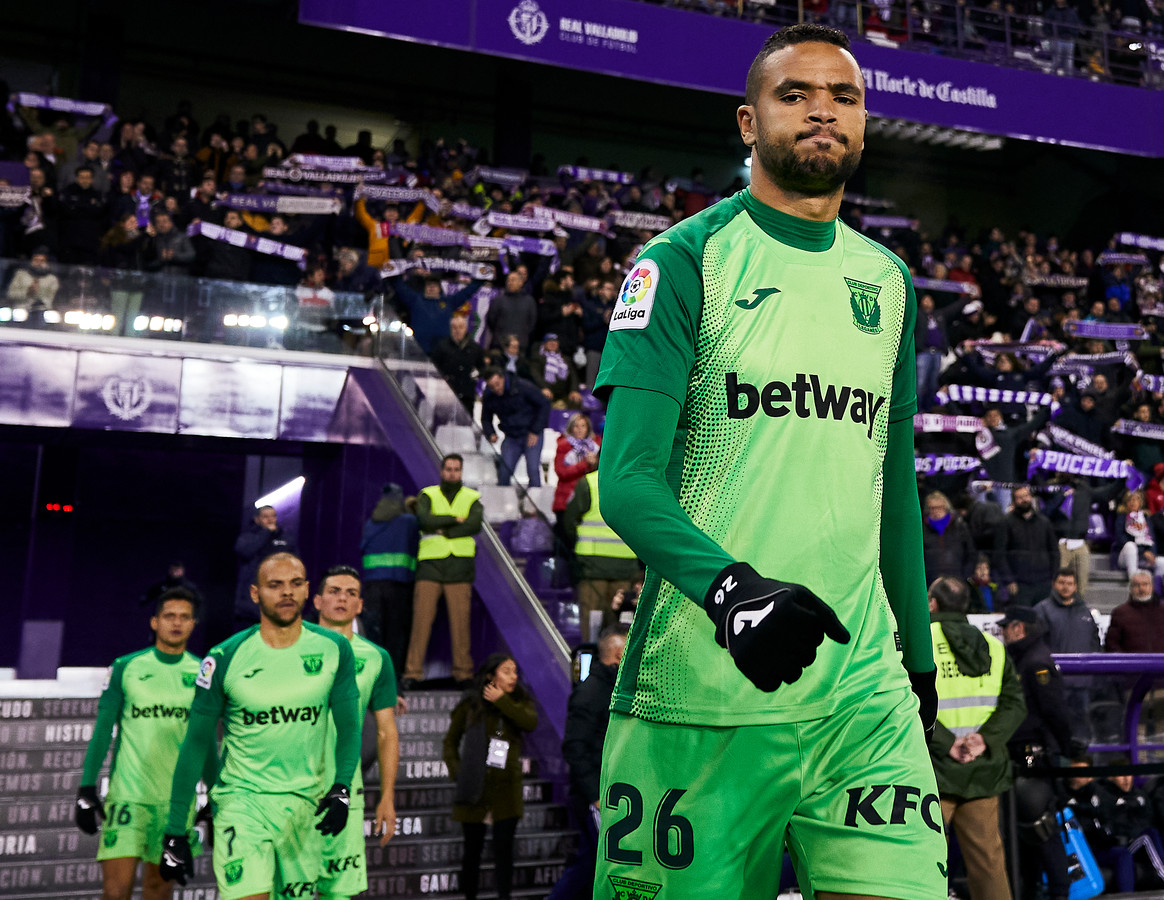 Youssef En-Nesyri in het shirt van CD Leganés.