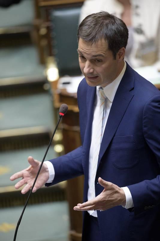 Alexander De Croo, ministre de la Coopération.