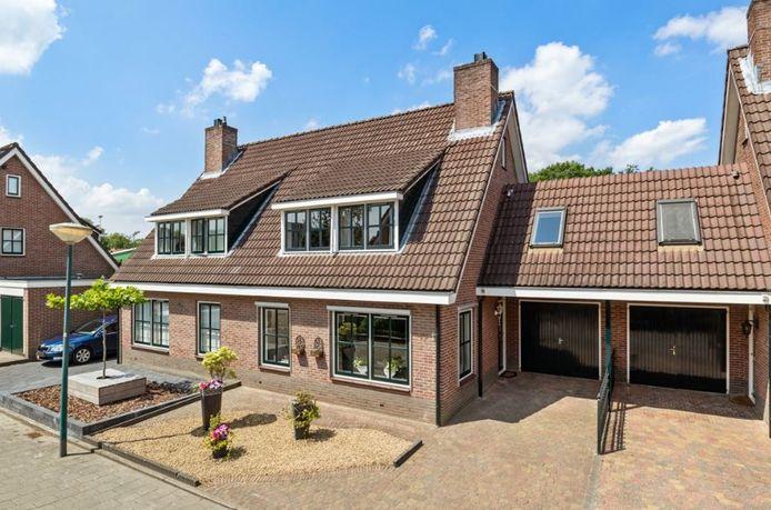 De woning aan de Coniferenlaan 15 in Veenendaal.