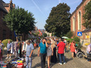 De rommelmarkt op de vorige editie.