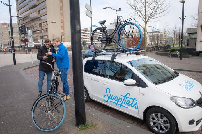 Swapfiets heeft veel gebruikers in Nijmegen.