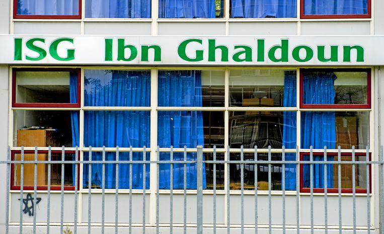De islamitische scholengemeenschap Ibn Ghaldoun. Beeld anp